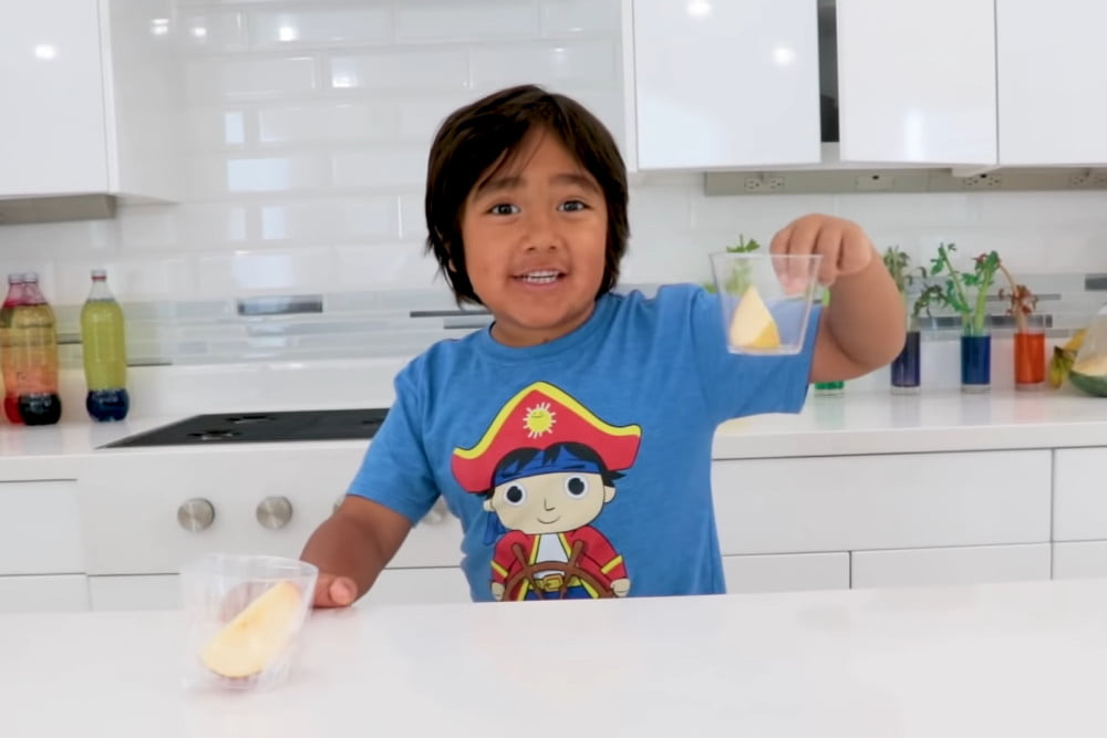 An eight-year-old U.S. YouTuber earned $26 million in 2019