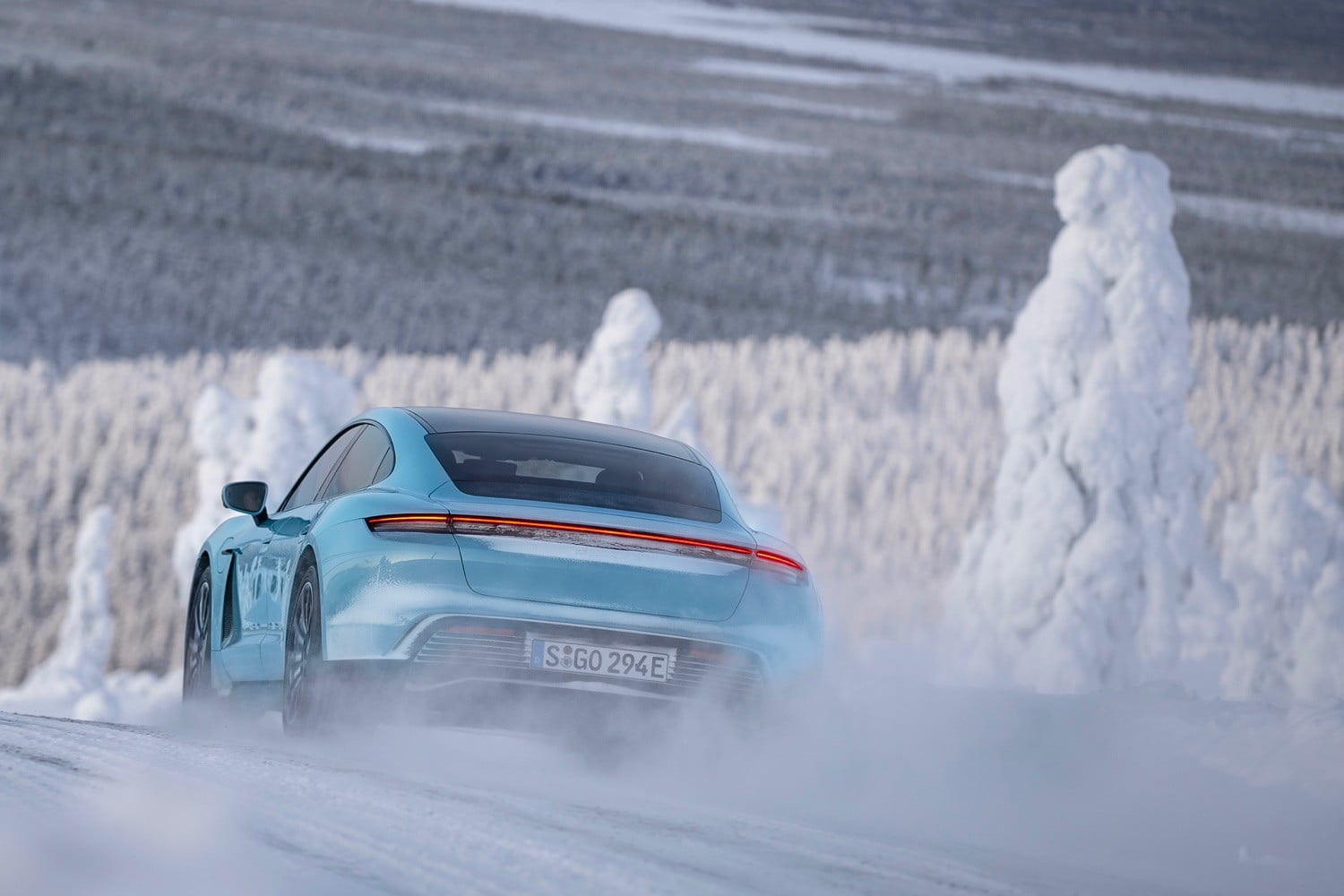 Here's how Porsche plans to give electric SUVs snow-conquering grip