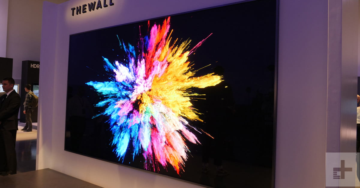 6 incredible TVs we saw at CES 2018, from OLED to MicroLED