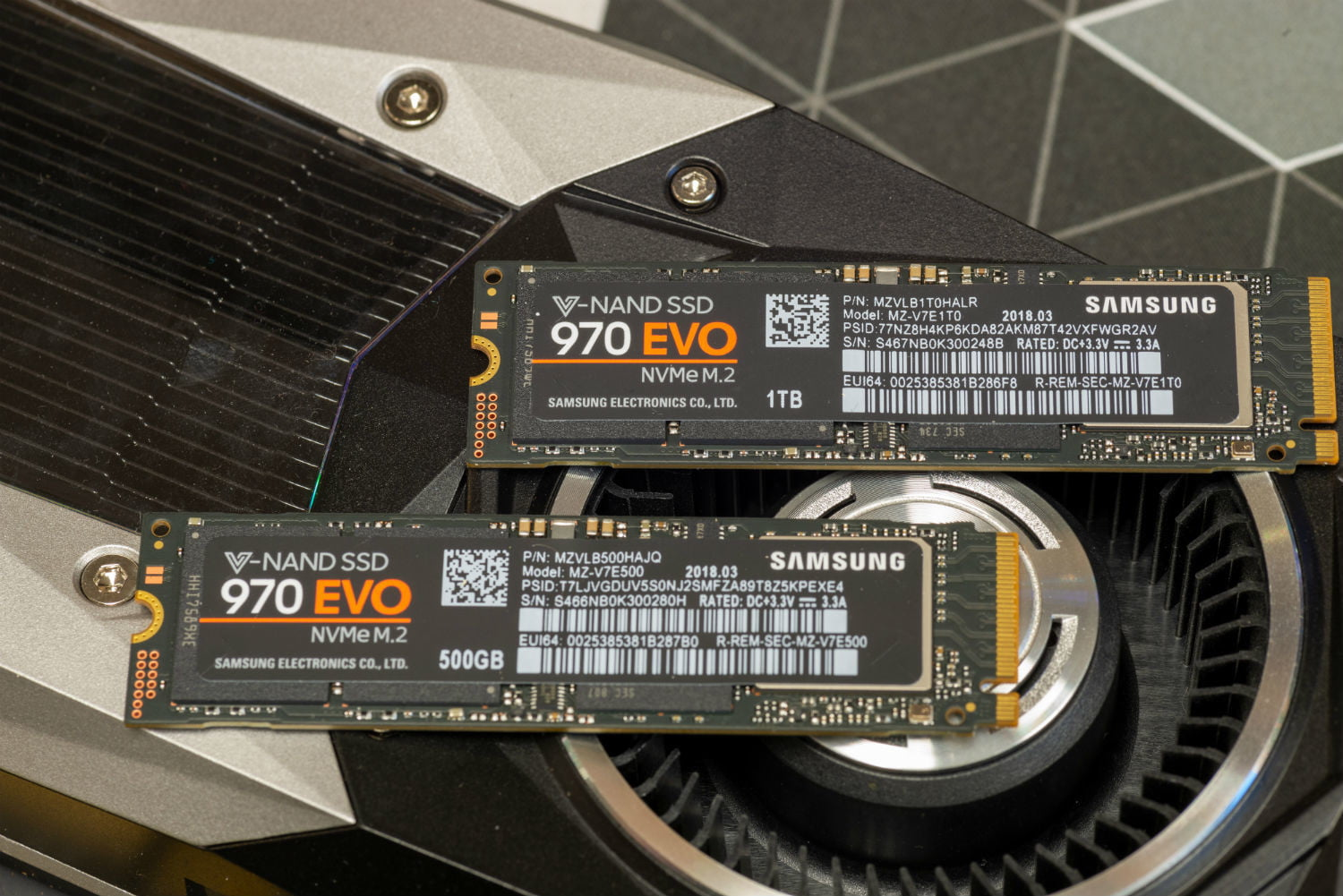 Samsung's 970 EVO SSDs Offer Stellar Performance With a