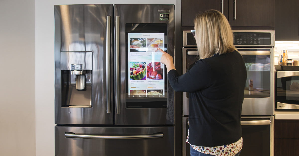 Samsung Family Hub Refrigerator Review Brains With A Cool Factor Digital Trends