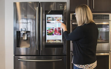 Samsung Family Hub Refrigerator Review Brains With A Cool