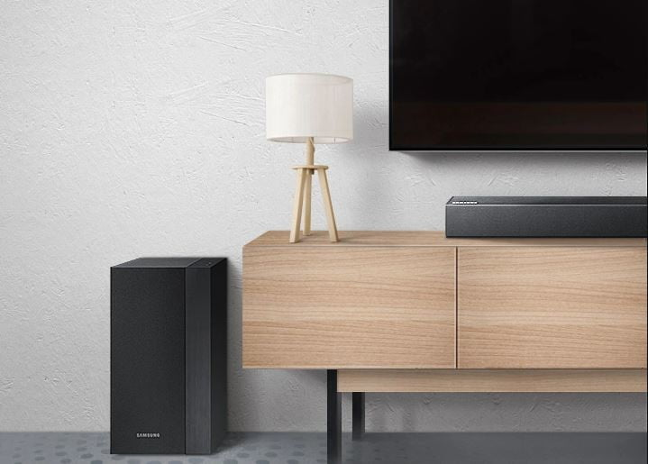 Best Buy cuts a booming 57% off this Samsung soundbar and subwoofer package