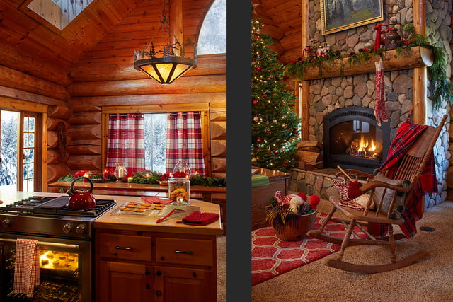 zillow lists and shows off home of santa 2 santas house livingroom 004
