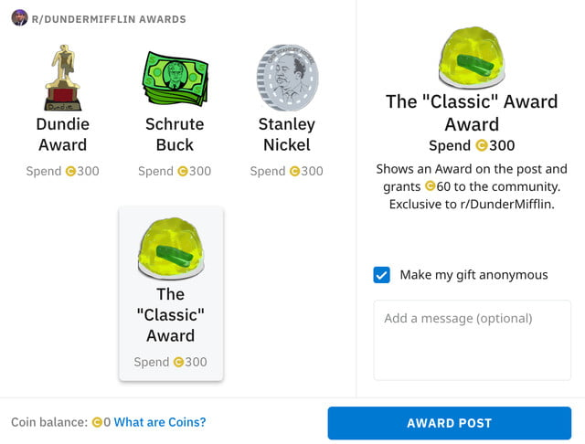 reddit community awards announced screen shot 2019 07 18 at 10 32 12 am copy