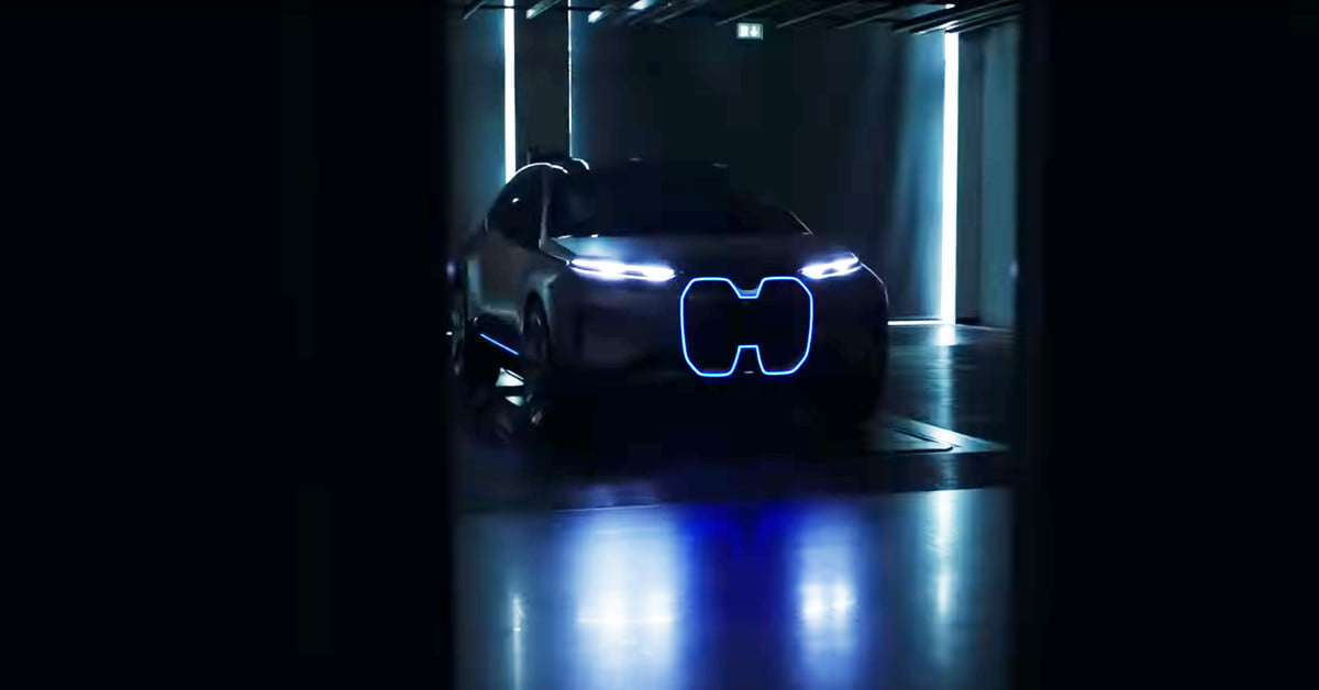 BMW Teases Its Vision iNEXT Concept Ahead of Global Debut ...