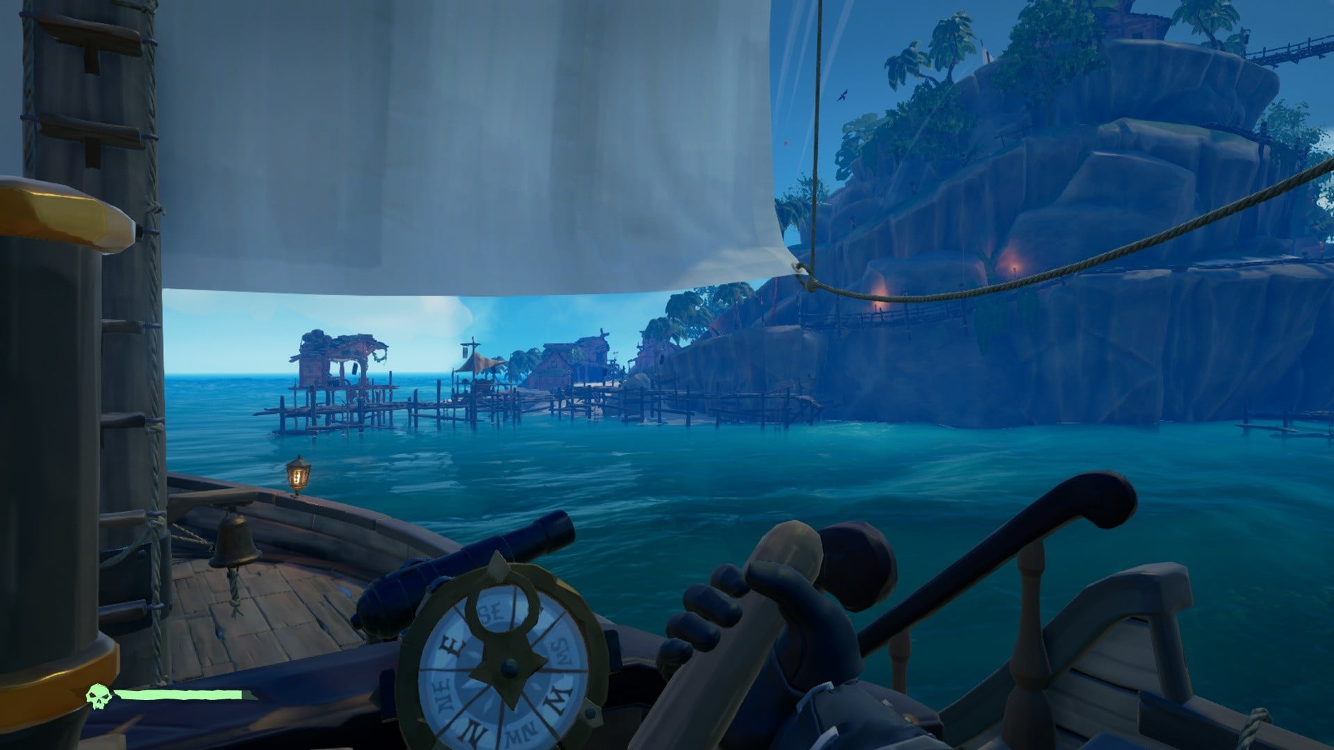 How To Play Sea Of Thieves Solo 10 Tips For Single Player Sailing
