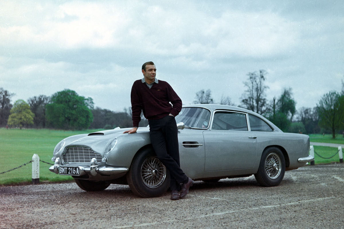 007's Actual Aston Martin DB5 From Goldfinger Might've Been Found