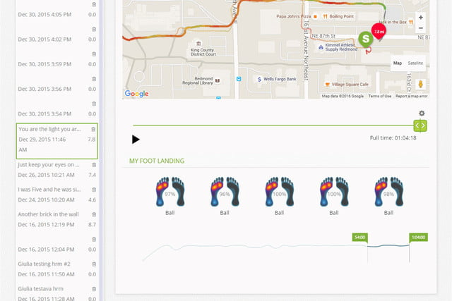 sensoria overhauls its app and unveils a fitness chip dashboard 1b