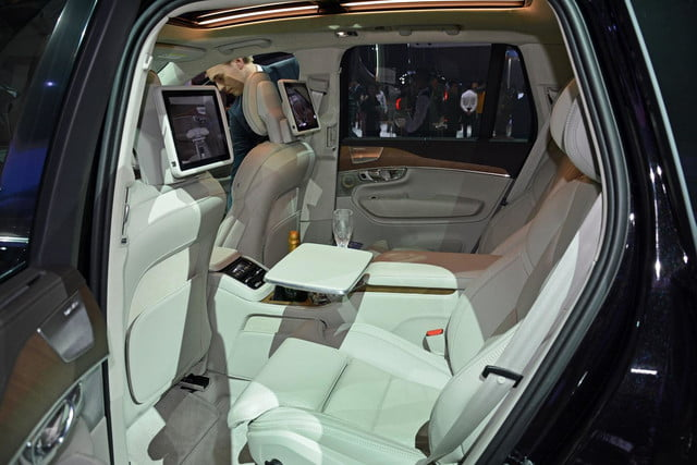 volvo lounge console concept pictures shanghai xc90 excellence 8