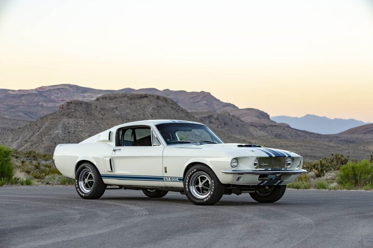 Shelby Will Roll Out 10 Limited Edition 67 Mustang Gt500 Super Snakes