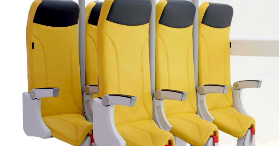 The Latest 'Skyrider' Airplane Seat Still Looks Really Uncomfortable