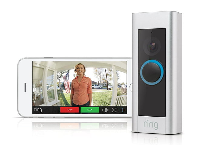Smart home devices ring the doorbell