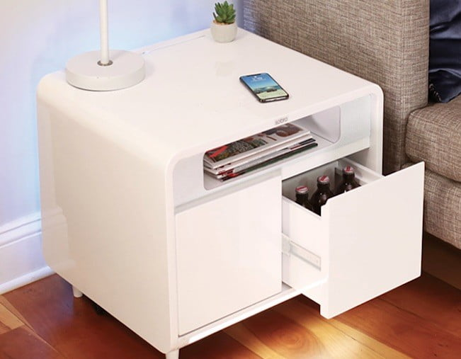 Smart Side Table.Sobro Unveils Its New Smart Side Table For Your Smart Home