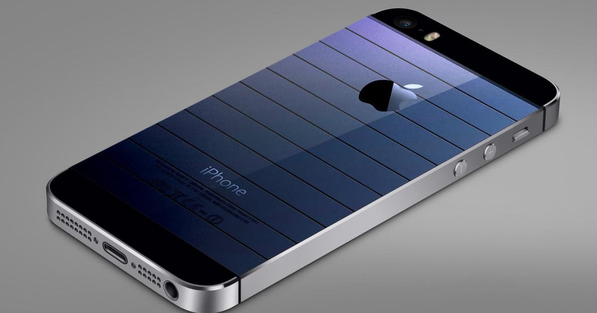 Future Iphones Could Have Solar Touchscreens In Them