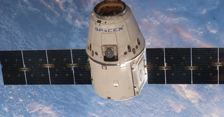 SpaceX's Dragon spacecraft ends final mission with a splash   Digital Trends