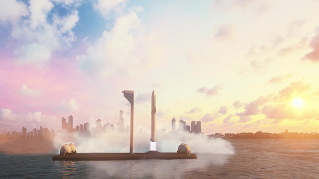 spacex to build floating spaceports for rocket launches ocean launch