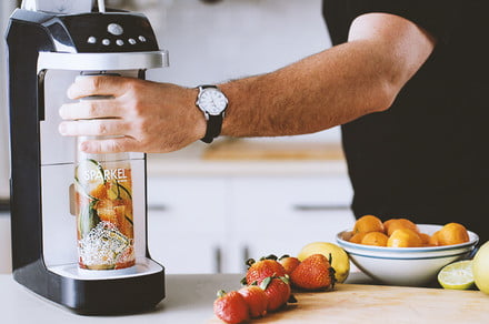 Sparkel shines with its at-home sparkling beverage system, now on sale