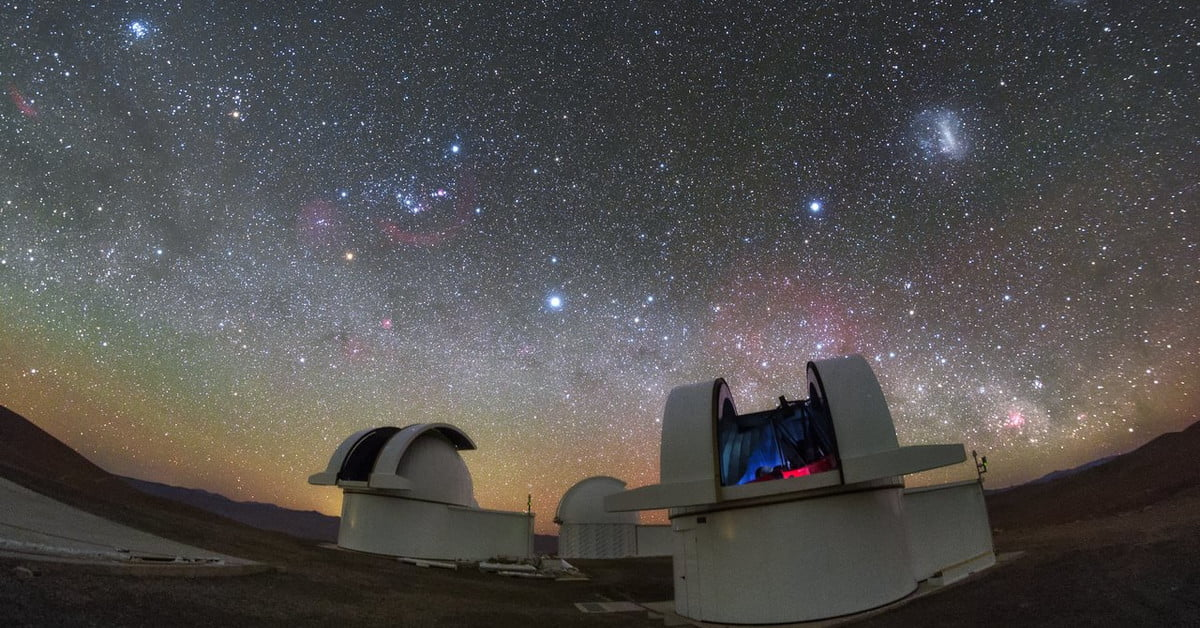 Beautiful First Image Captured by New Telescope in Chilean Desert