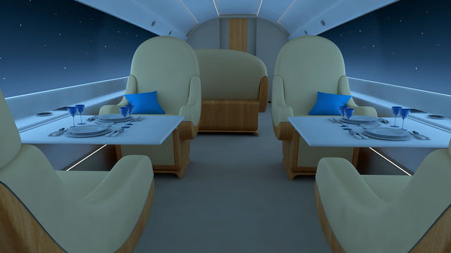 high speed concepts that could mark the return of supersonic travel spike s 512 jet interior night2