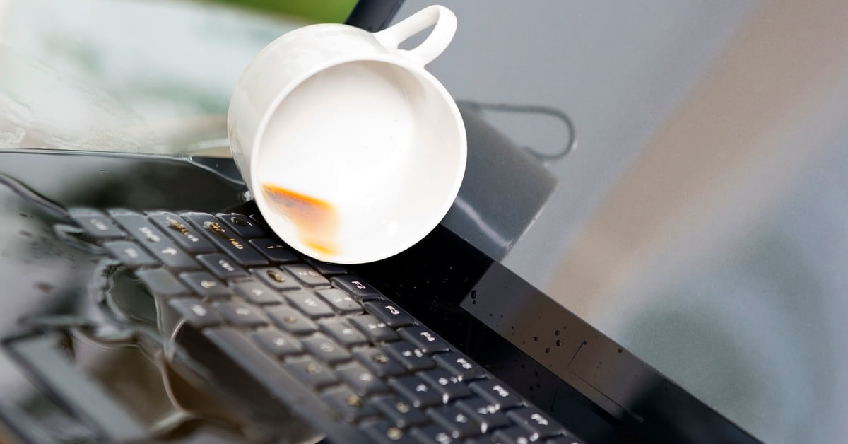 Spilled Water on Your Laptop? Here's How to Fix It | Digital