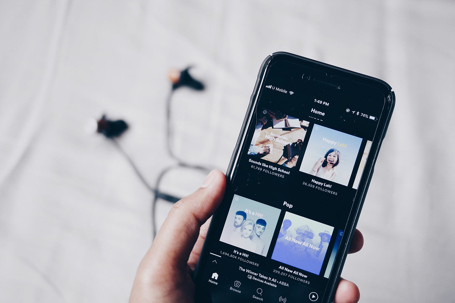 You May Soon Be Able to Listen to Your Own Music on Spotify