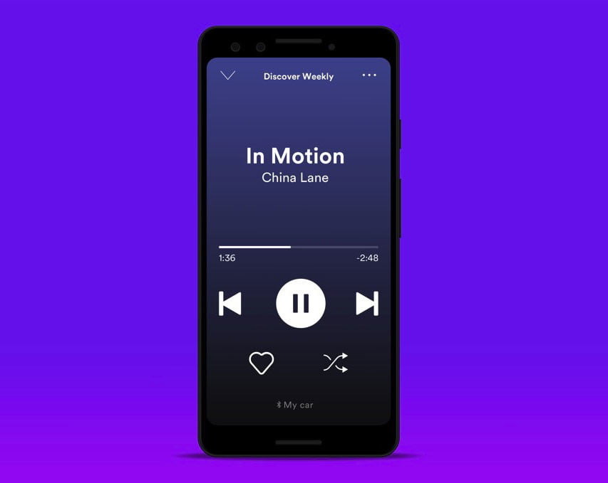 Spotify Adds Simplified Car View Mode for Android Users