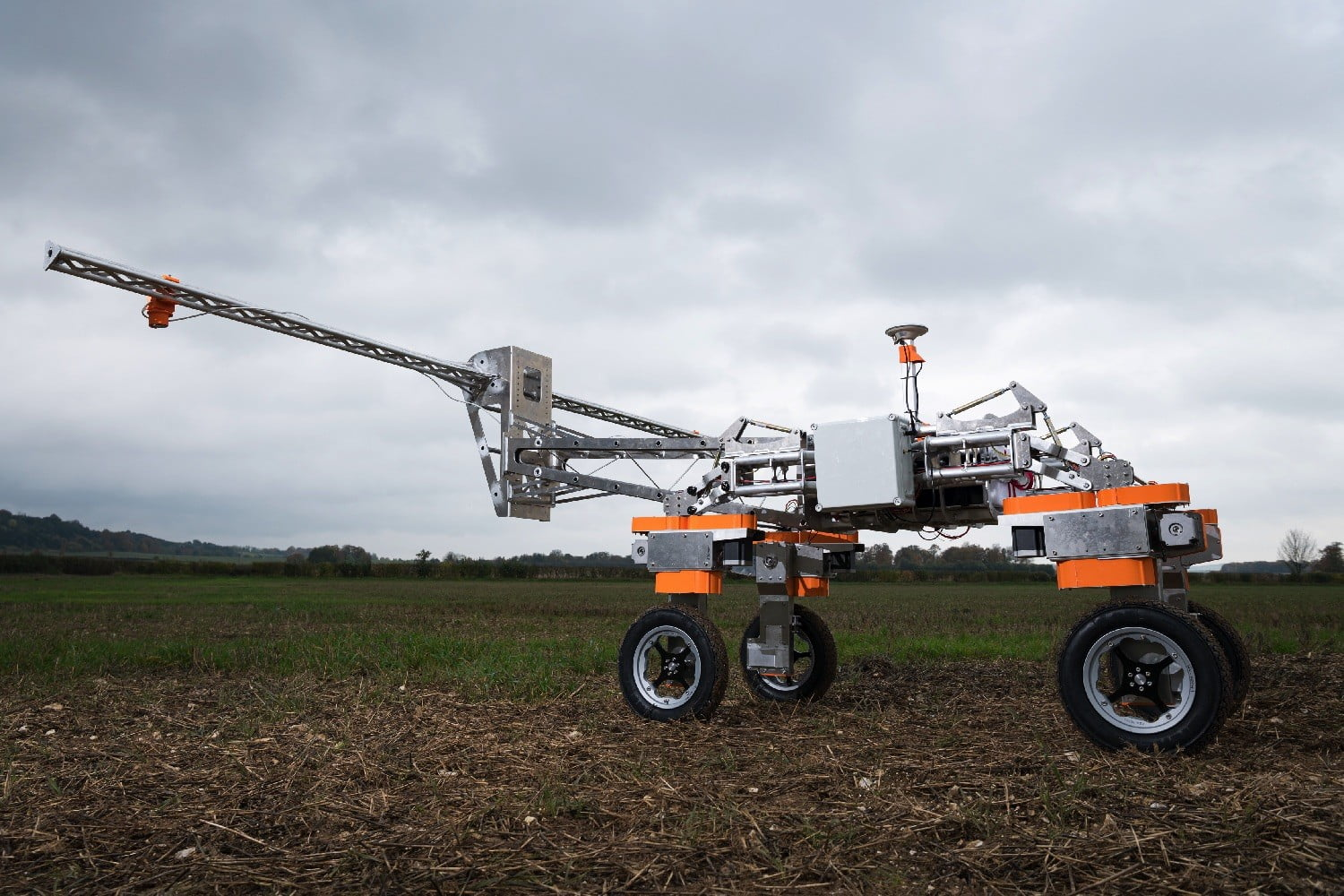 These robots taser weeds to death so farmers don't need chemical herbicides