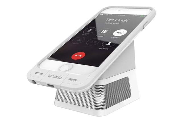 get stackeds new audio solutions and rid of all your wires for the iphone stacked dock 2