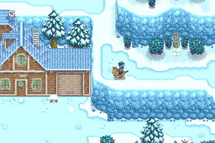 How to solve the Winter Mystery quest in Stardew Valley