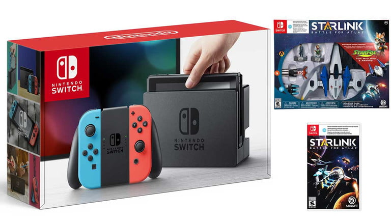 Nintendo Switch and Starlink Bundle