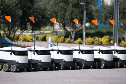 Autonomous robot deliveries are coming to 100 university campuses in the U.S.