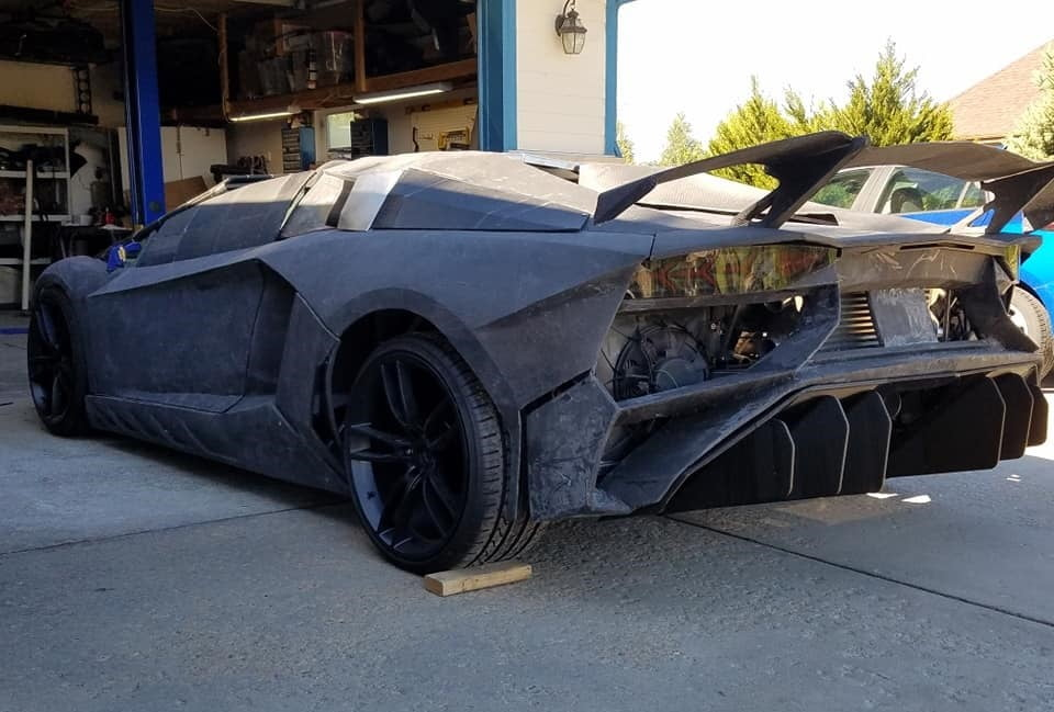 Playing Forza inspired this gamer to 3D-print a Lamborghini for his son