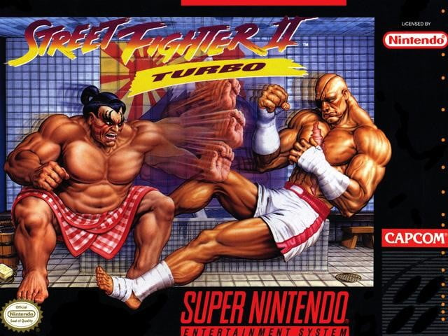 best snes games street fighter ii turbo