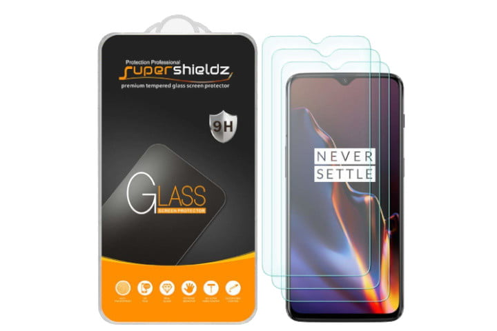 SuperShieldz Tempered Glass Protector OnePlus 6T