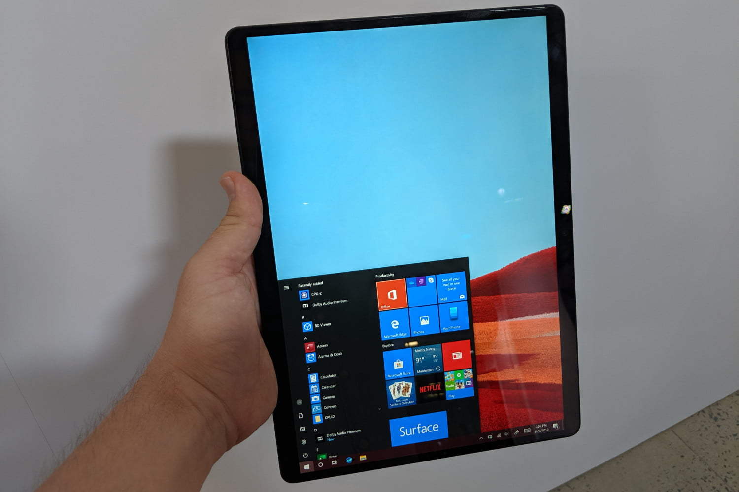 Surface Pro X hands-on review: The Surface I've always wanted