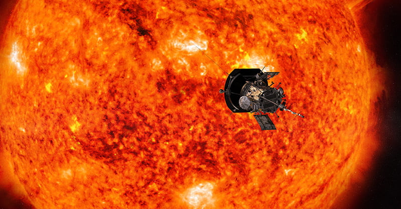 Parker Solar Probe on record-breaking approach to the sun