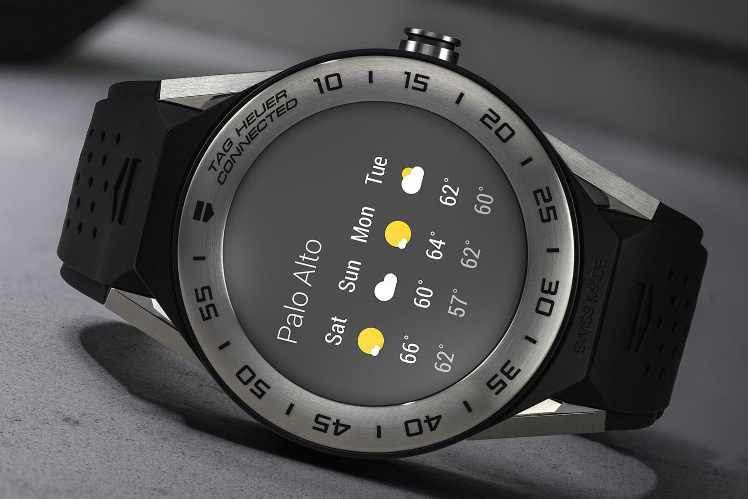 Tag Heuer shrinks the size and price tag for its new Android Wear smartwatch