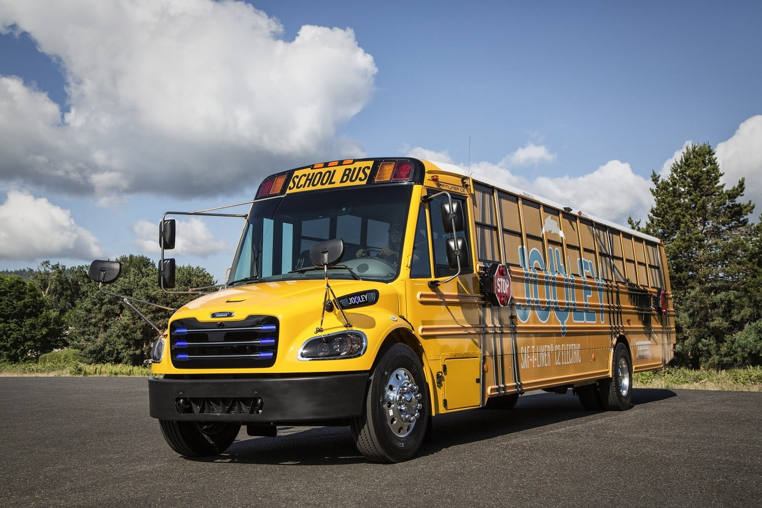 Thomas Built Buses on track to deliver Virginia's first electric school buses