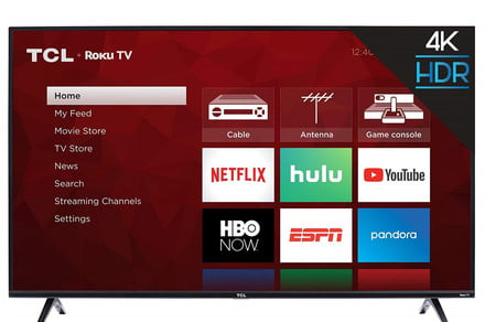This TCL 4K TV is over $200 off during Walmart's Presidents Day sale