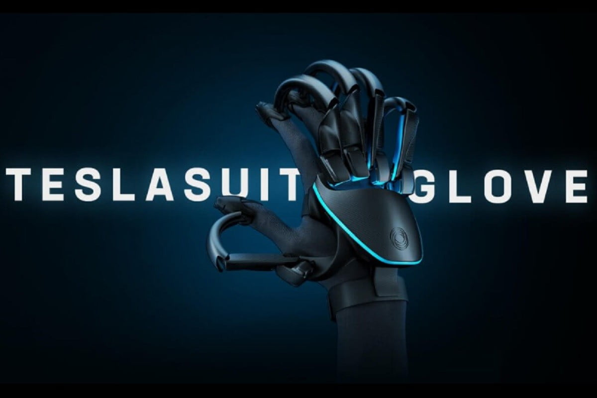 Teslasuit evolves with VR glove that lets wearers feel virtual textures