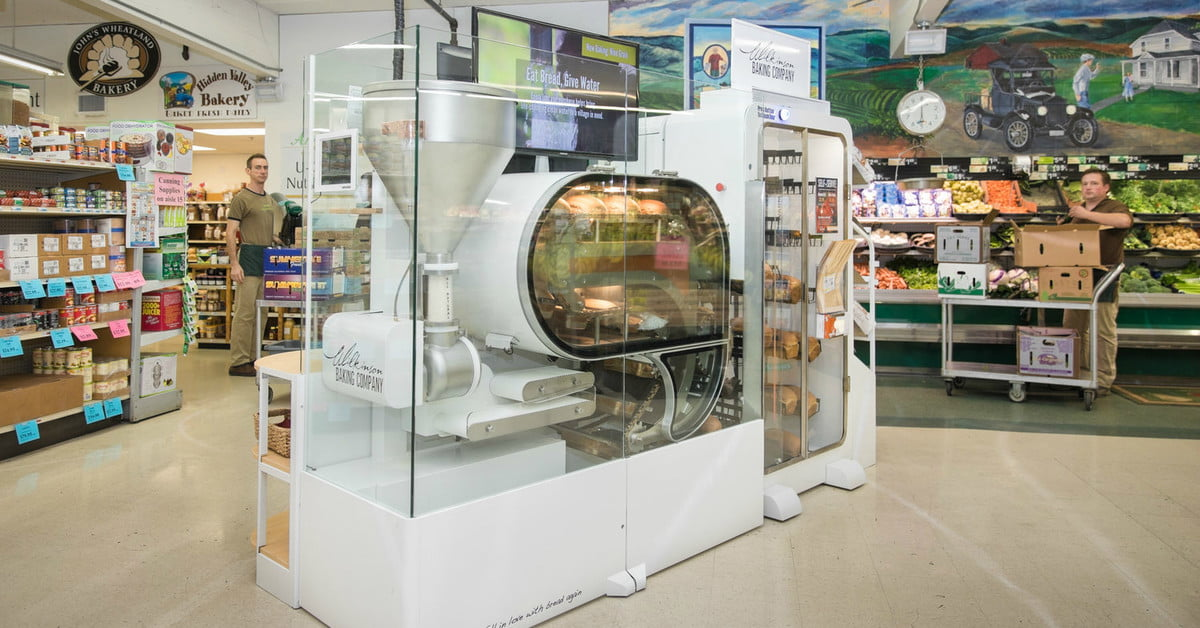 CES 2019: Robotic Breadmaker Promises Grocery Store Theater