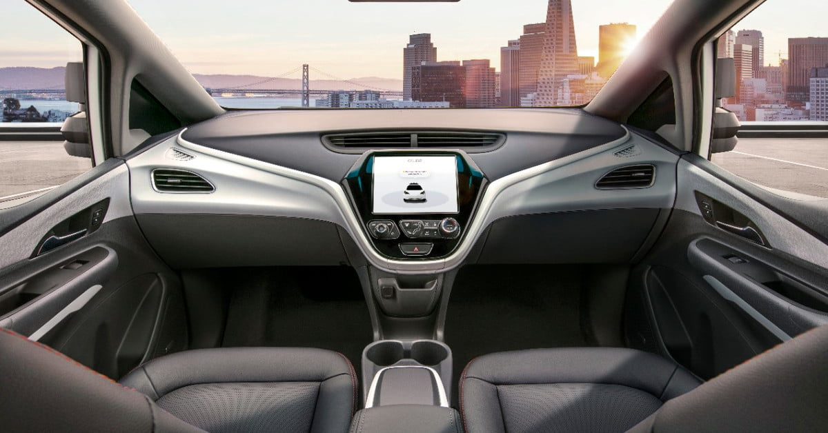 GM requests green light to ditch steering wheel in its self-driving cars