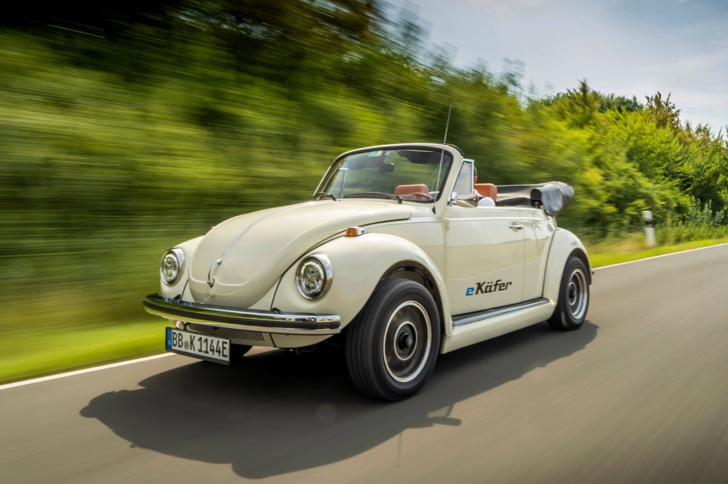 Official VW electric conversion updates the classic Beetle