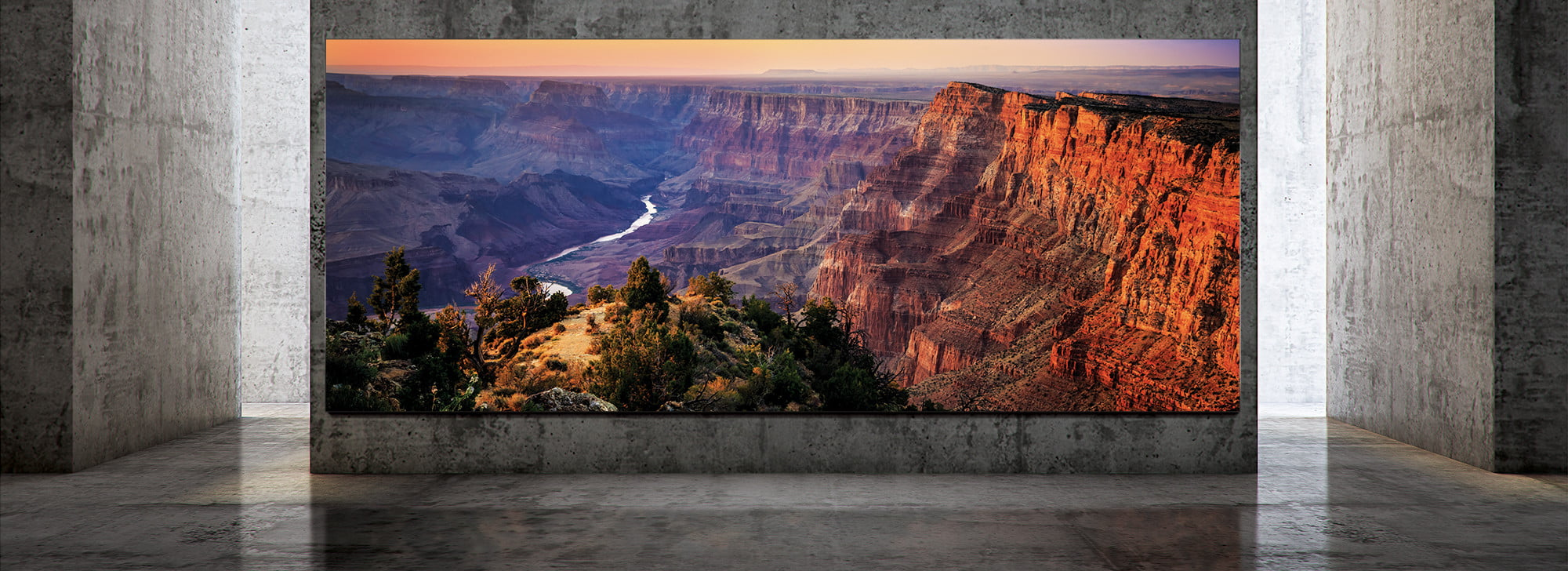 At 292 inches, Samsung's The Wall Luxury TV turns any surface into an 8K cinema
