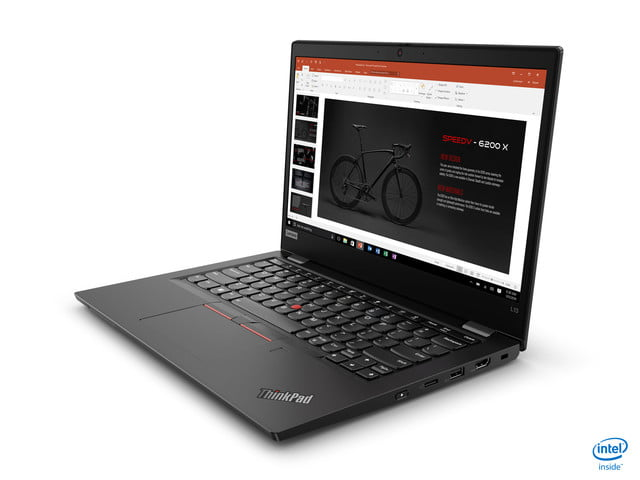 lenovo announces new thinkpad l x and t models for 2020 l13  front left