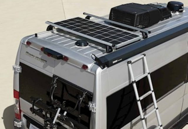take your tech on the road with thor sequence smart class b rv motorcoach 7  1