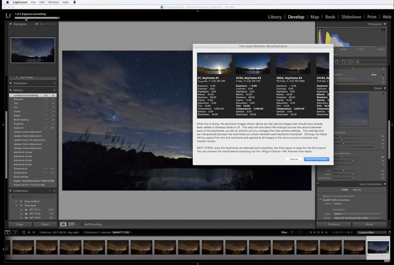 This new Lightroom plugin automatically edits time-lapse sequences