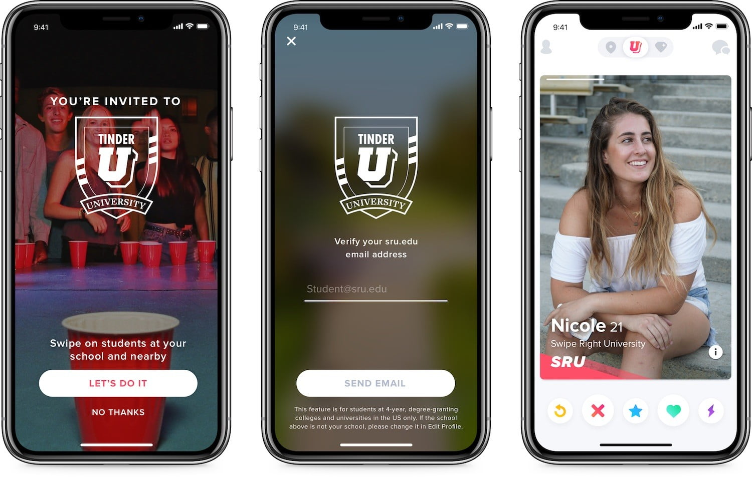 Tinder Launches 'Tinder U' For Students Attending Four-Year