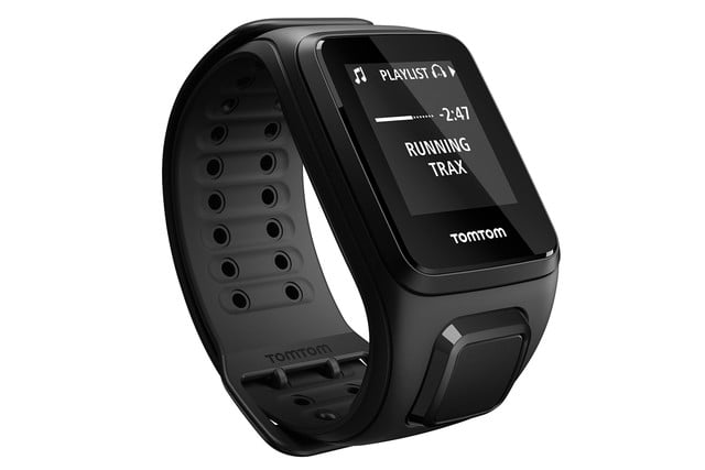 the tomtom spark gps fitness watch lets you listen to your music without phone 005